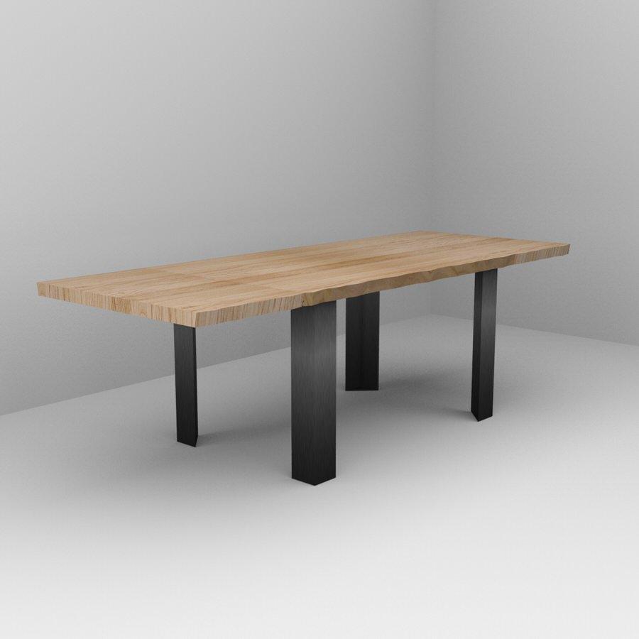 Tavolo artigianale in legno massello di castagno su misura