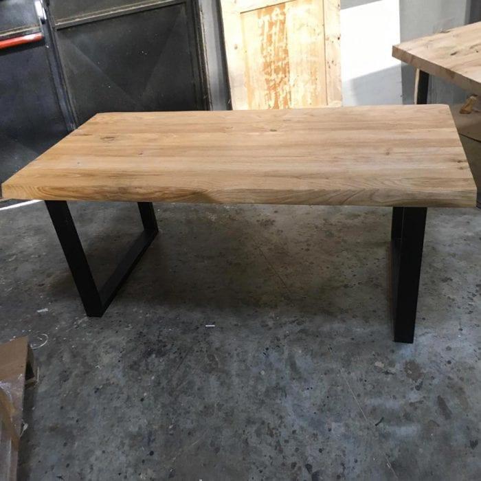 Tavolo Impero in legno massello di castagno dimensioni 180cm