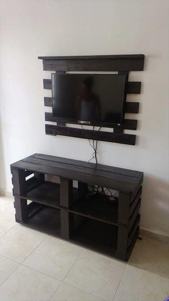 Costruire Mobile Porta Tv Fai Da Te.16 Idee Creative Per Avere Un Mobile Porta Tv Originale In